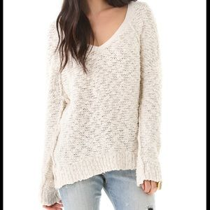 Free people cream pullover